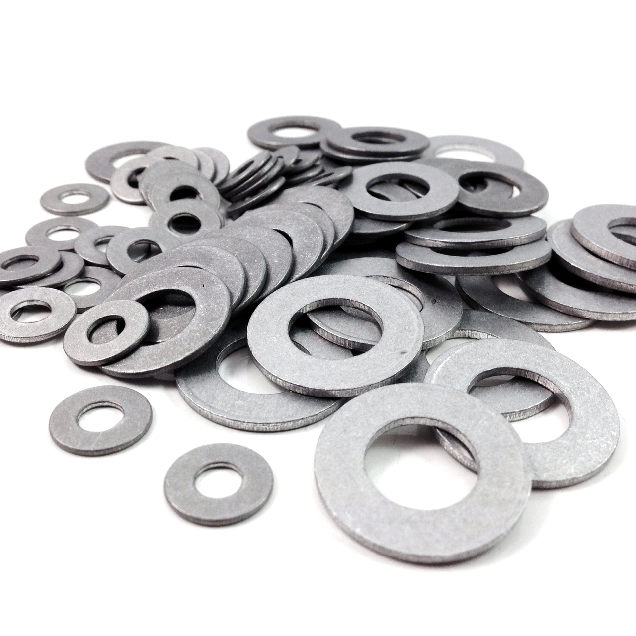 ALUMINIUM WASHERS M6 to M22 Various Quantities Sealing Washer